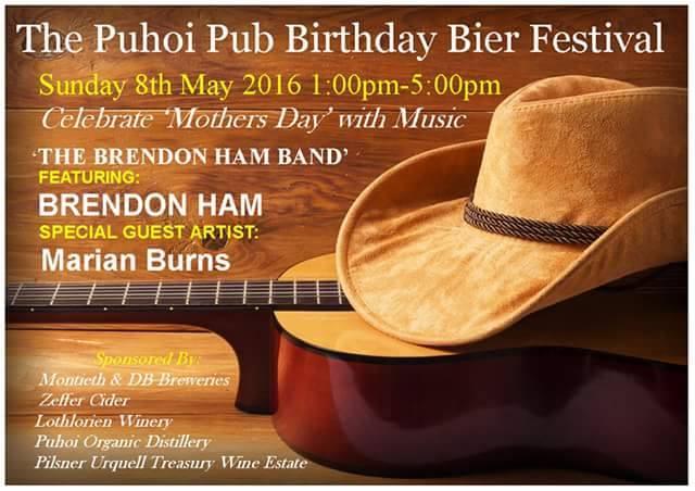 Puhoi Pub Birthday and Bier Festival @ Puhoi Pub