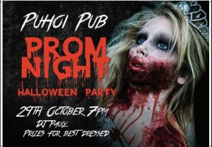 Prom Night Halloween Party @ Puhoi Pub