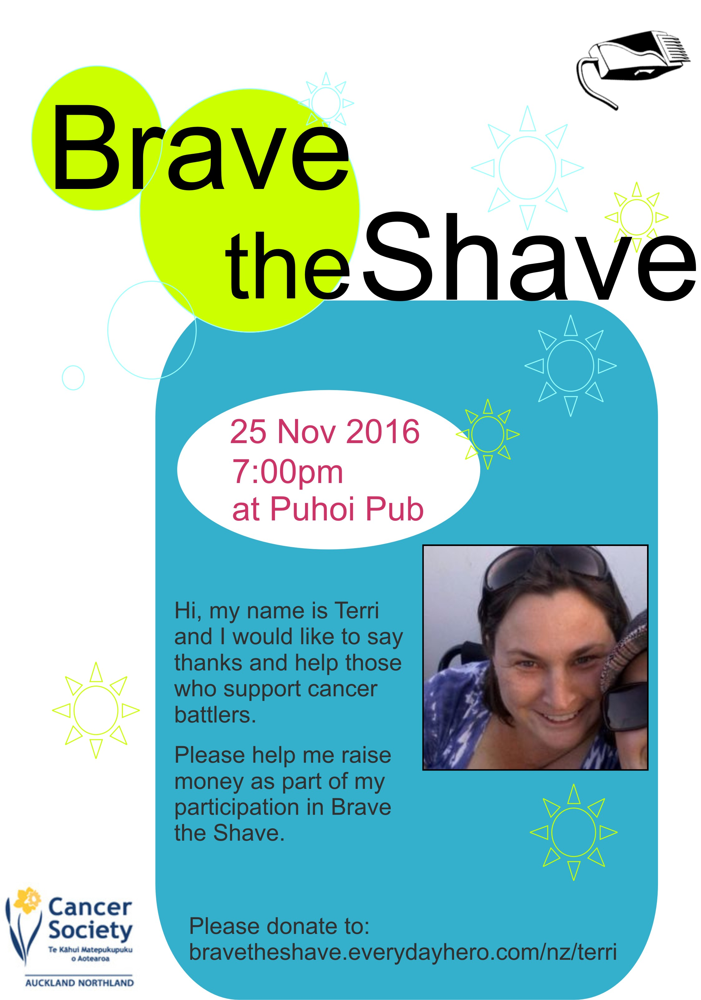 Brave the Shave Poster