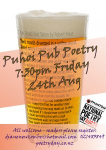 Poetry At The Pub @ puhoi hotel