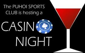 Casino Night @ Puhoi Sports Club