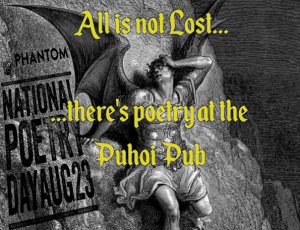 Poetry at the Puhoi Pub @ Puhoi Pub