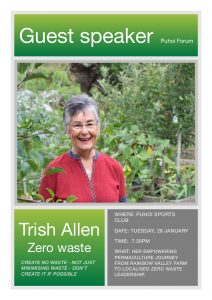 Trish Allen:  Zero Waste @ Puhoi Sports Club
