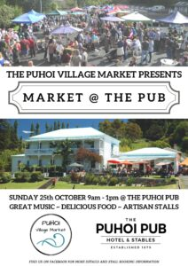 Puhoi Market @The Pub @ Puhoi Pub Car Park